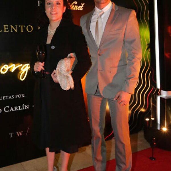 Claudia Romero y Roberto Robie