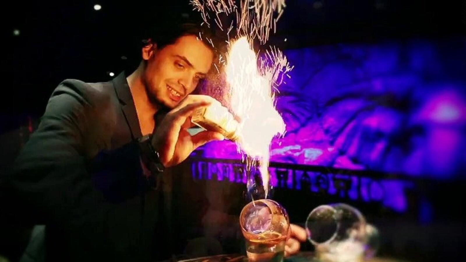 Rum Blazer cocteles bebidas