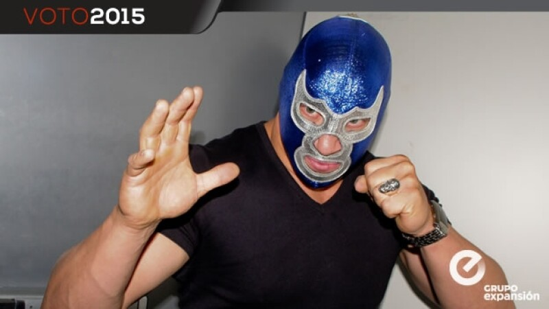 blue demon jr apoya a loyola