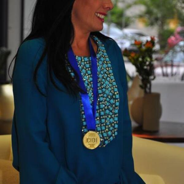 María Laura Medina de Salinas Pliego.