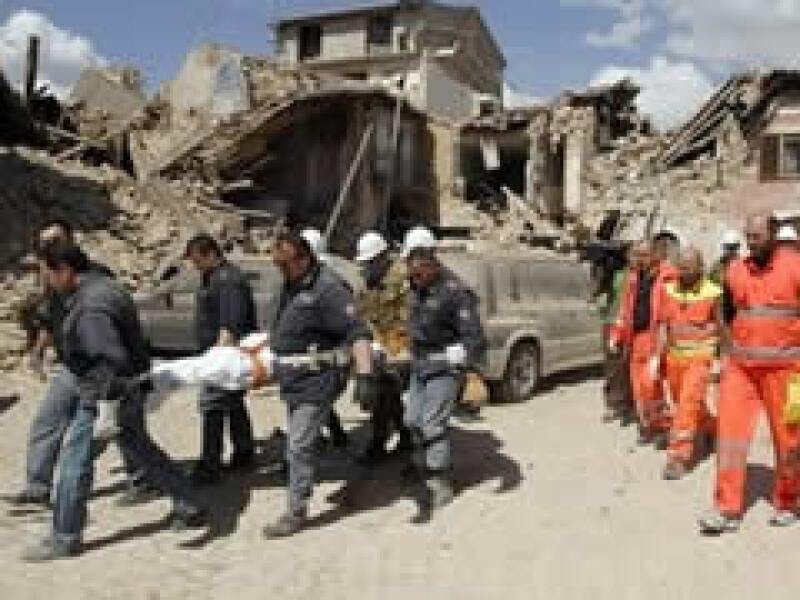 El terremoto registrado este lunes en Italia ha causado serios daños en varias localidades. (Foto: AP)