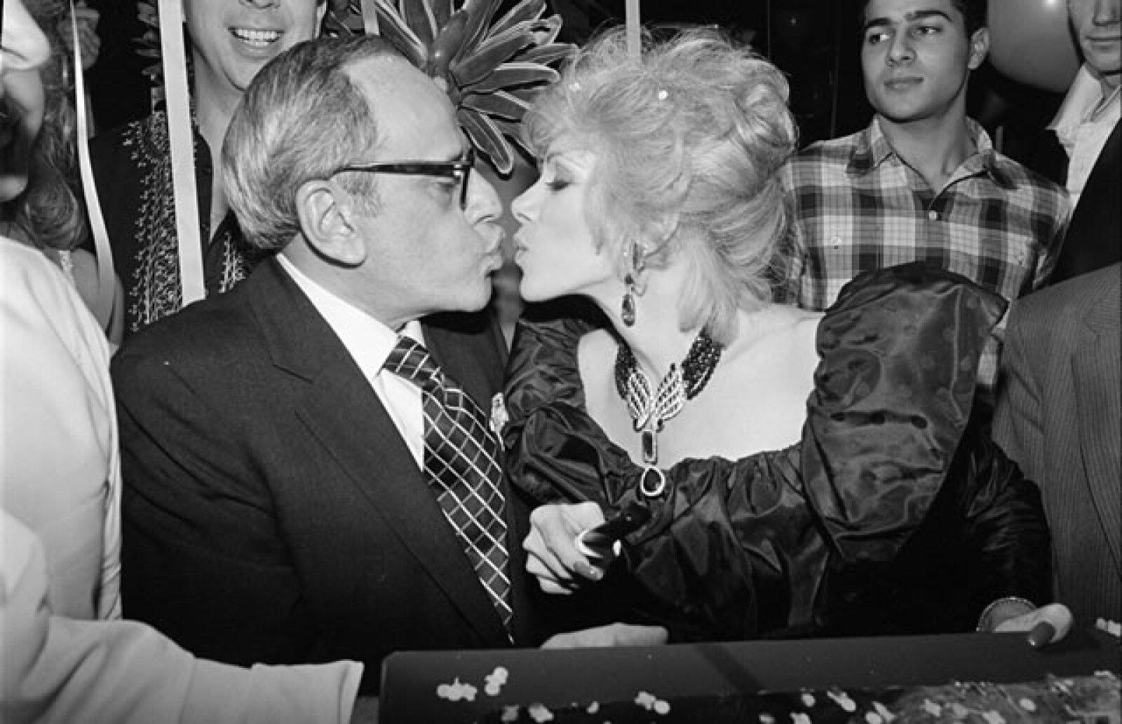 1983. Joan Rivers y Edgar Rosenberg.
