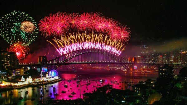 City Of Sydney Celebrates New Year's Eve 2018