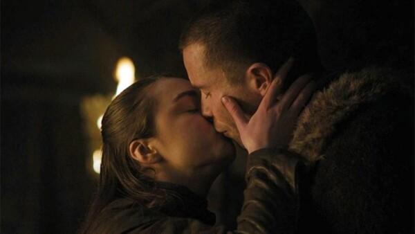 Arya Stark y Gendry
