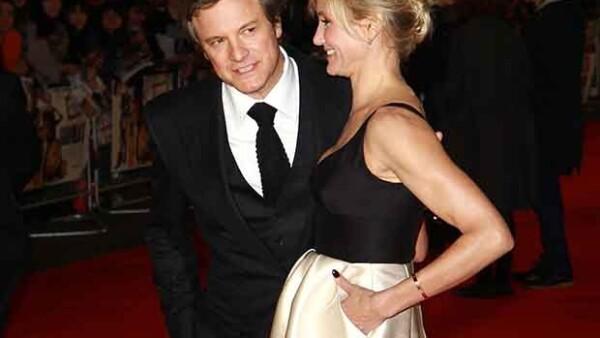 La actriz confesó que se sintió enamorada del encanto inglés del ganador del Oscar, durante el rodaje de su nueva película &#39Gambit&#39.