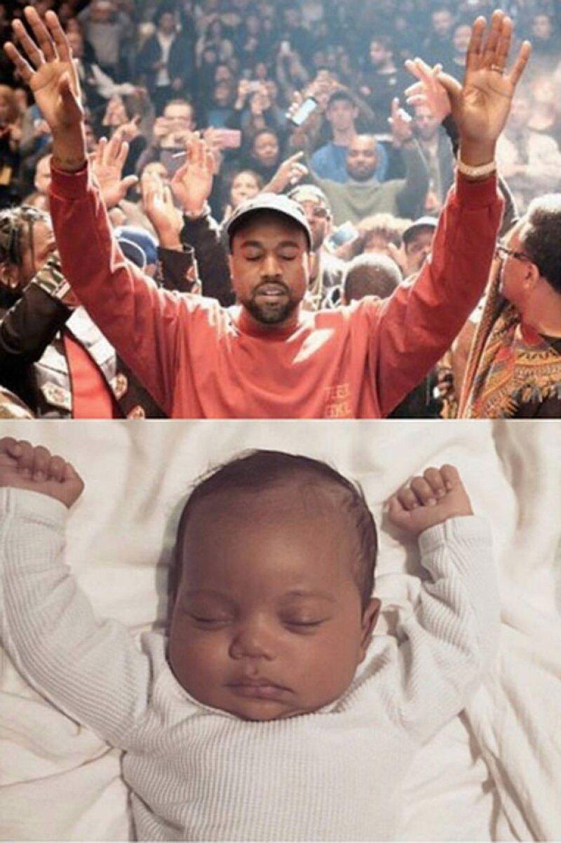 Tal vez Kim Kardashian nunca imaginó que su hijo sería objeto de memes cuando posteó su primera foto. Aquí te dejamos los más divertidos.