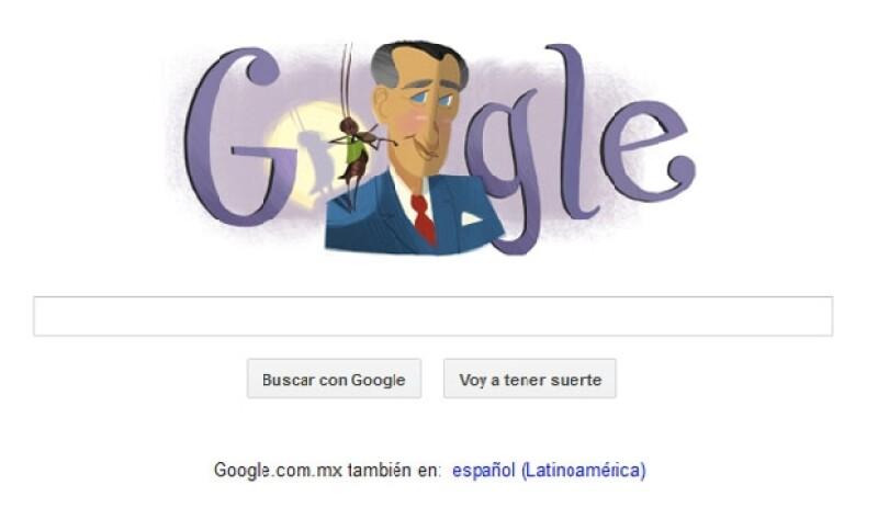 Google se unió al festejo del 105 aniversario del natalicio de Francisco Gabilondo Soler con esta imagen que seguramente te remite a tu infancia.