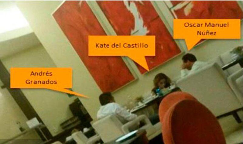 En medios de comuniación se han difundido fotografías de los encuentros de Kate del Castillo con los abogados del capo.