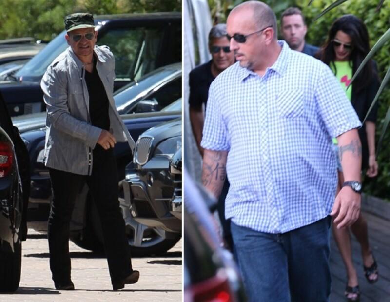 Bono y sus compañeros del grupo viajaron a Los Cabos para celebrar el cumpleaños de George Clooney quien estuvo acompañado de su prometida Amal Alamuddin.