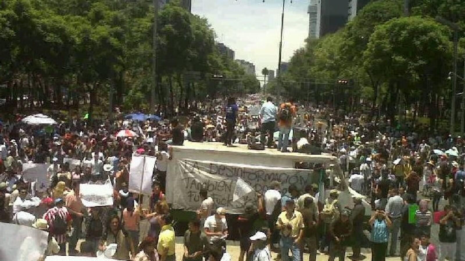 yosoy132 en la marcha anti peña