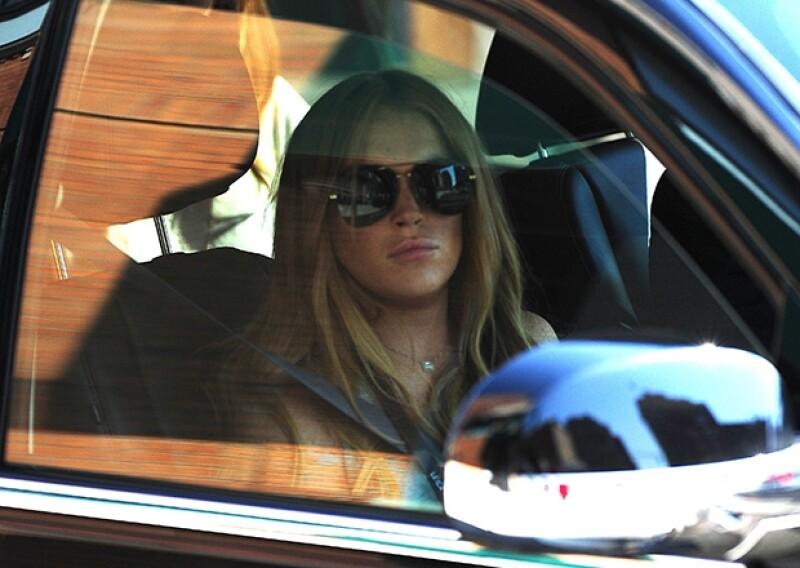 """A pesar de que se había dicho que la visita del actor a Lindsay en """"rehab"""" había sido para ofrecerle un papel en su nueva película, hoy se desmintió, aclarando que su interés era sólo amistoso."""