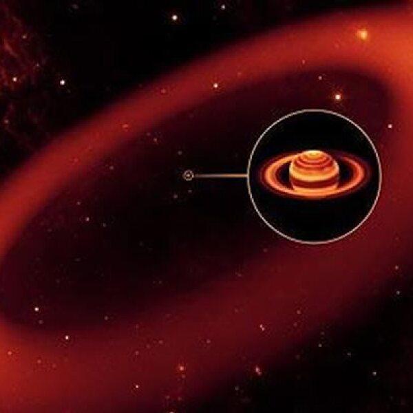 El miércoles, el Laboratorio de Propulsión a Chorro de la NASA anunció el descubrimiento del anillo más grande jamás visto (se llenaría con mil millones de planetas Tierras) alrededor de Saturno por el telescopio espacial Spitzer.