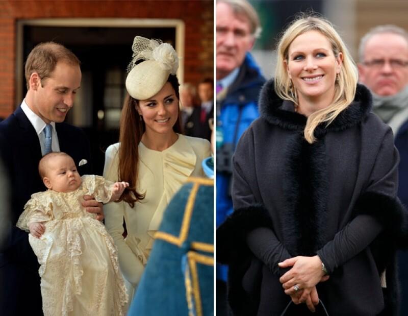 A pesar de ser nieta de la reina Isabell II, Zara Phillips no tiene título real.