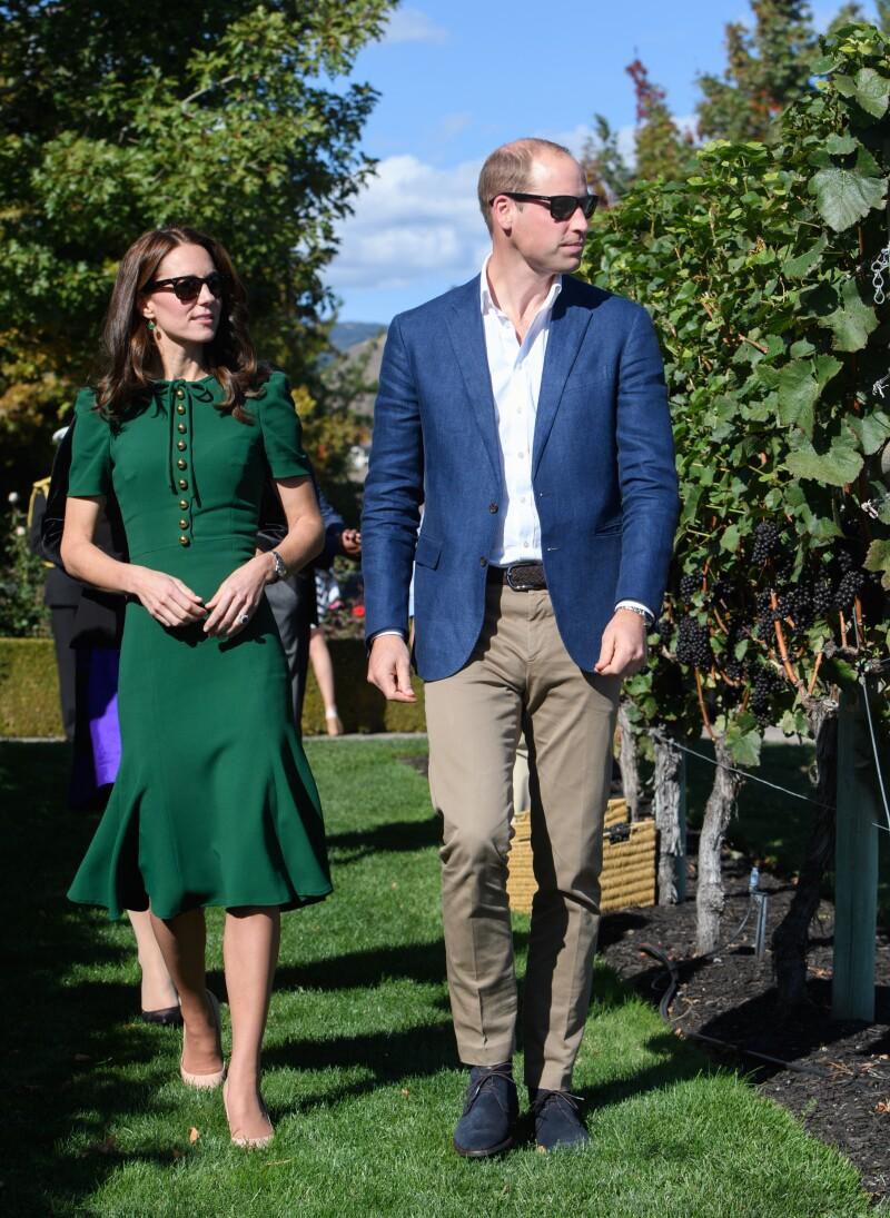 Kate y William en Canadá