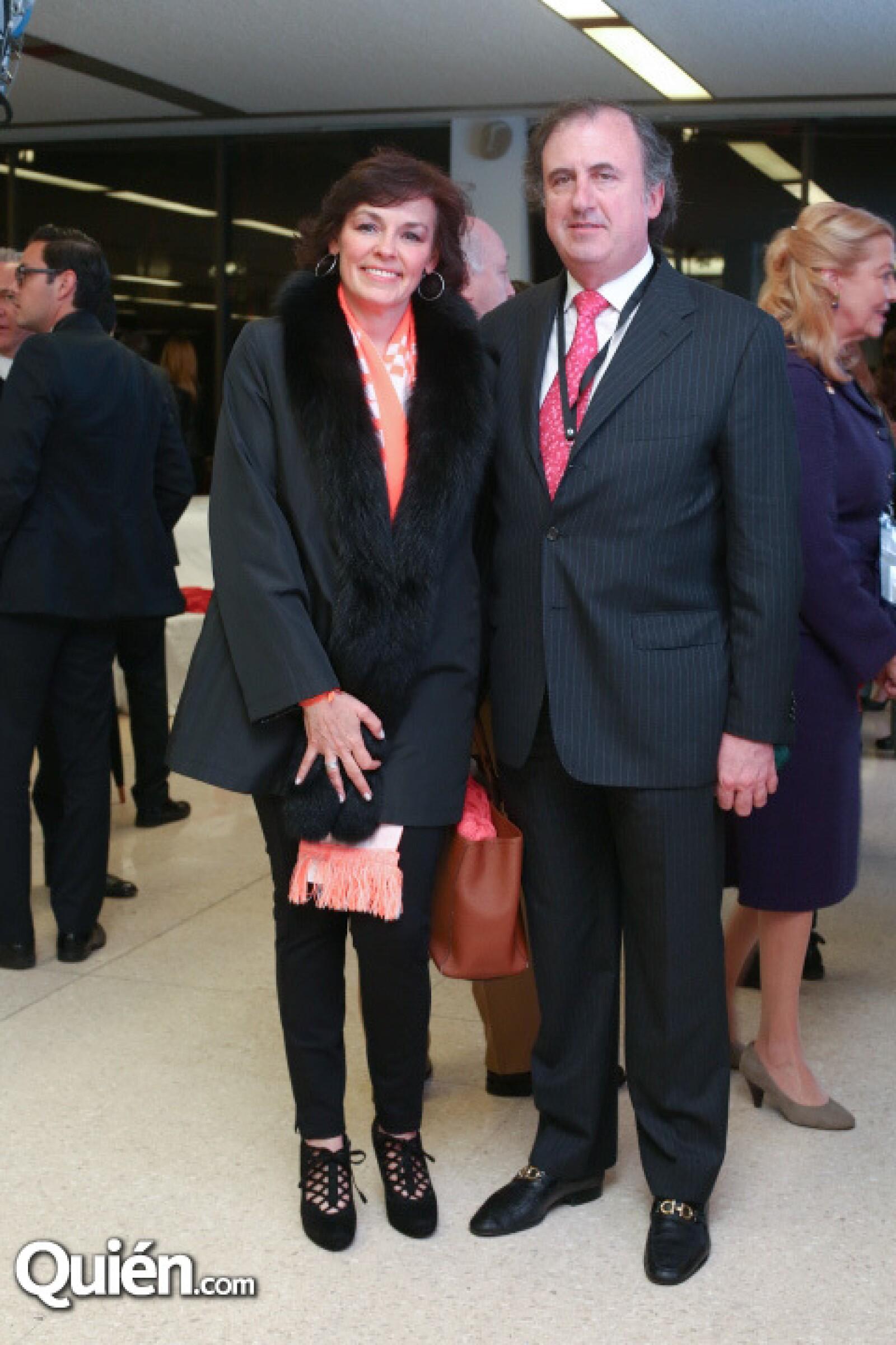 Isabel Fernández y José Ramón Fernández.