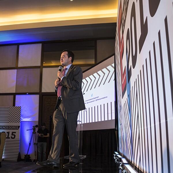 También estuvo presente en el evento el fundador y CEO de Inventive Power, Ángel Mejía, Emprendedor del Año 2014 en la categoría Menos de 3 Años de Ventas.