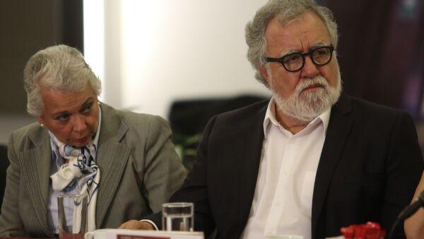 Olga Sánchez y Alejandro Encinas