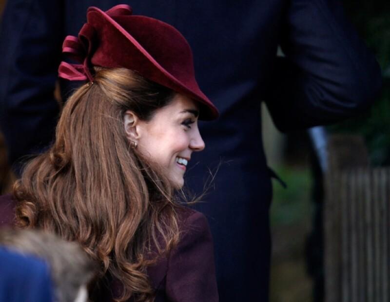 Kate siempre se ha caracterizado por utilizar el sombrero más adecuado para cada ocasión.