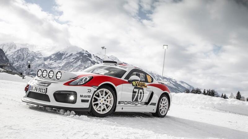 Porsche Cayman GT4 Rallye