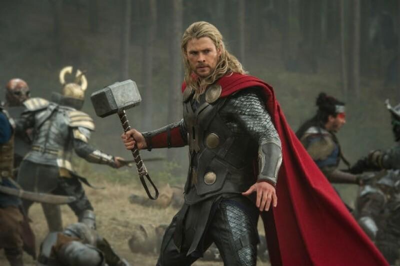 """""""Thor"""" es el papel con el que Chris ha conquistado a todo tipo de público."""