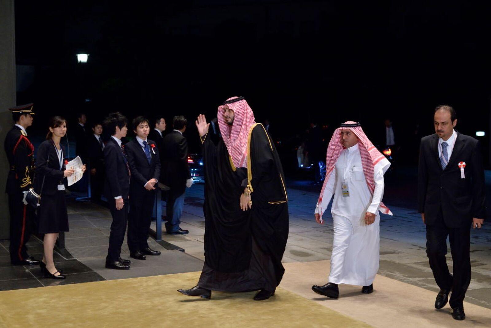 Príncipe Turki bin Mohamed bin Fahd bin Abdulaziz Al Saud de Arabia Saudita