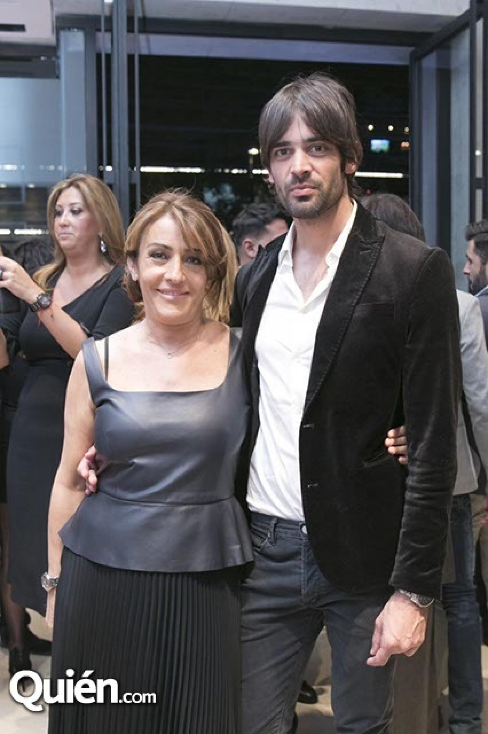 Francesca Tinghi y Martín Maneiro