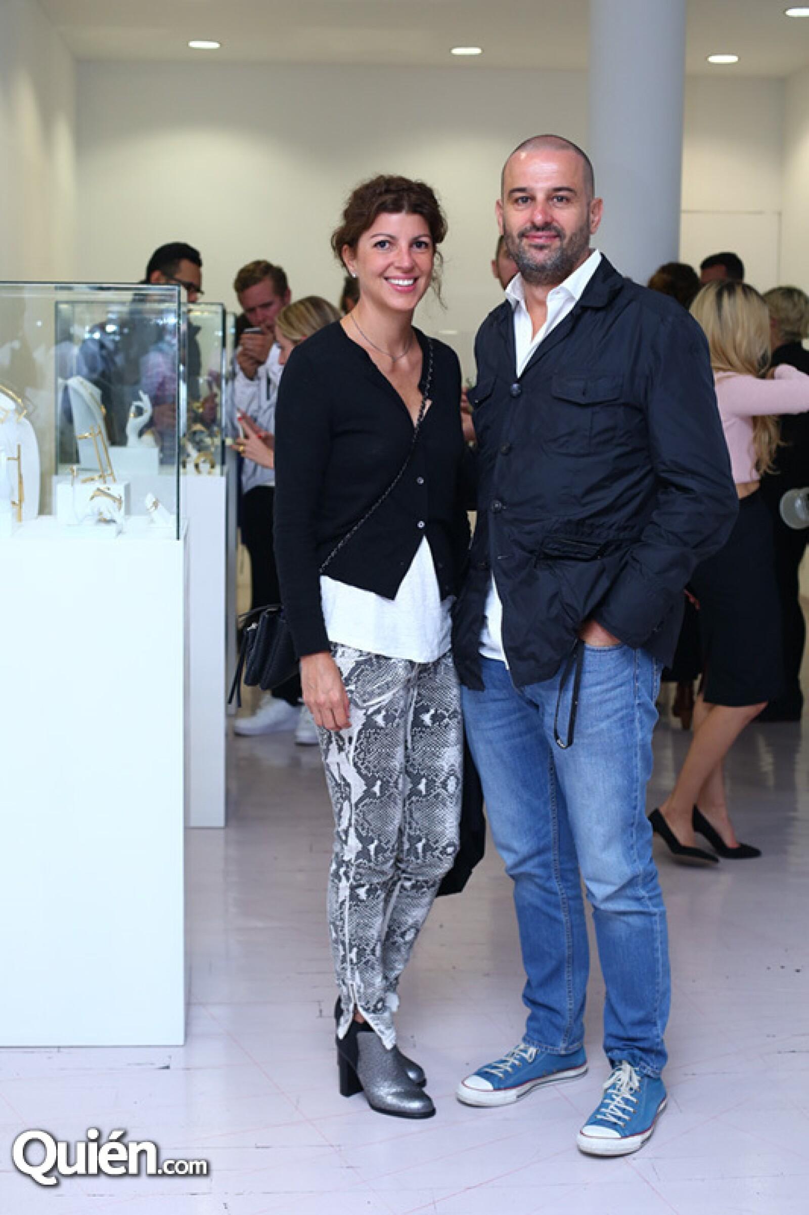 Mariana Escudero y Manel Alonso