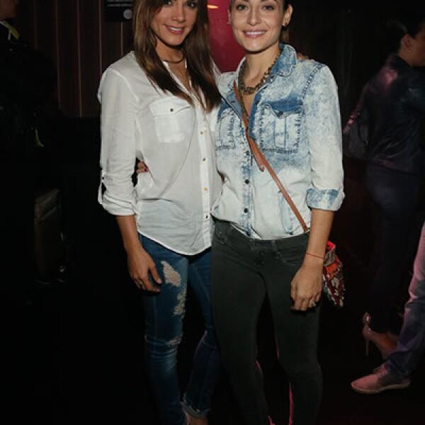 Rossana Nájera y Marimar Vega.