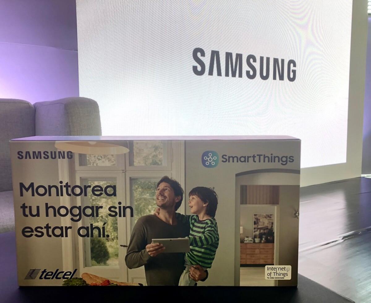 Samsung lanza un kit para tener casas inteligentes en México