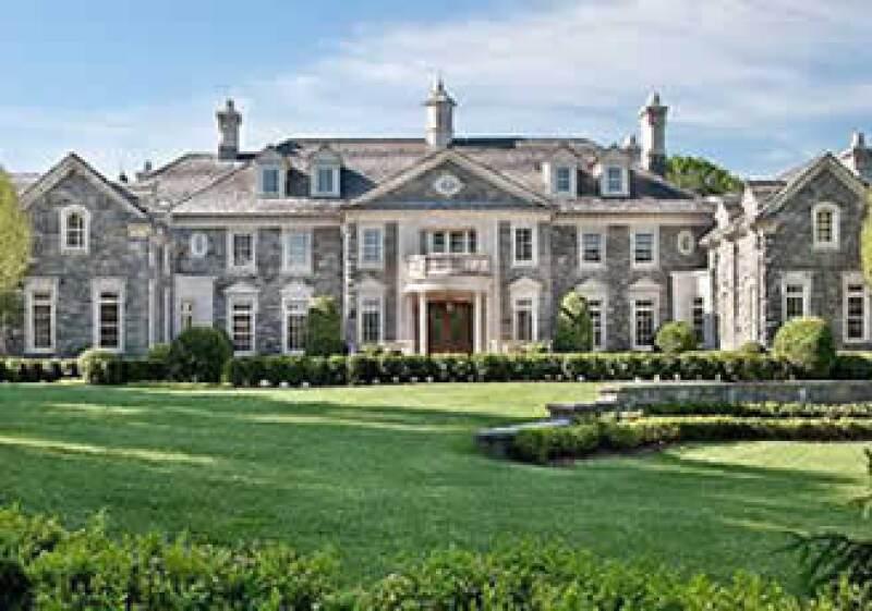 Esta mega mansión, en Apline Nueva Jerse, se oferta en 68 millones de dólares. (Foto: Cortesía CNNMoney)