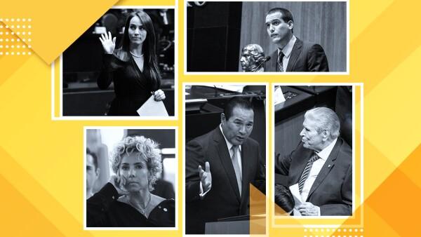 Legisladores faltistas