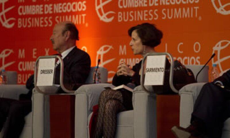Dresser propuso la reelección de legisladores, la democratización de los medios, el combate a los monopolios. (Foto: Carlos Aranda/Mondaphoto)