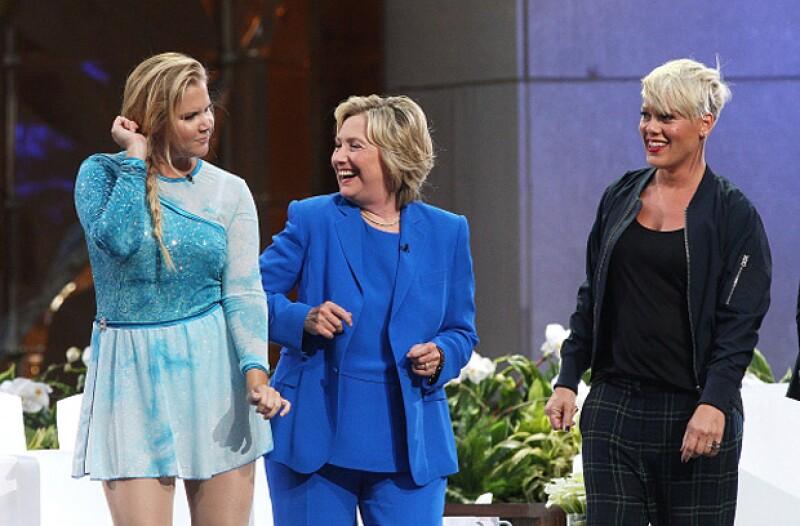 La aspirante a la presidencia de los Estados Unidos no pretende competir contra el rapero en las elecciones del 2020.