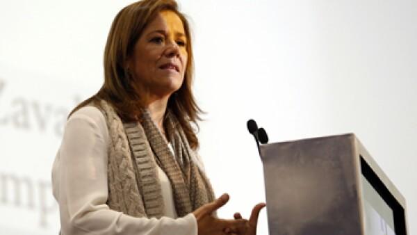 Zavala se ha perfilado como candidata del PAN, pero también por la vía independiente. (Foto: Cuartoscuro )