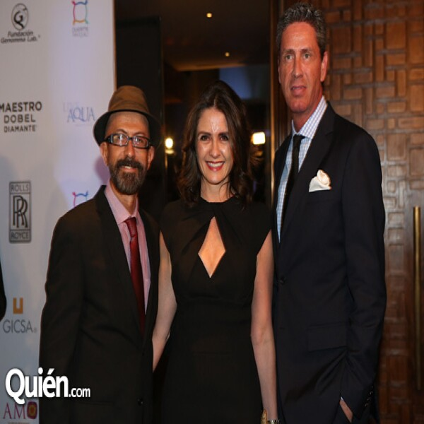Óscar Román,Mónica Quintero,Miguel Ortiz Monasterio