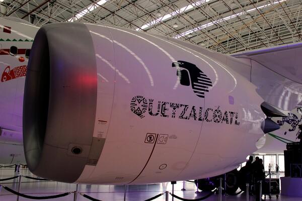 """Aeroméxico Boening 787-9 """"Quetzalcóatl"""" 7"""