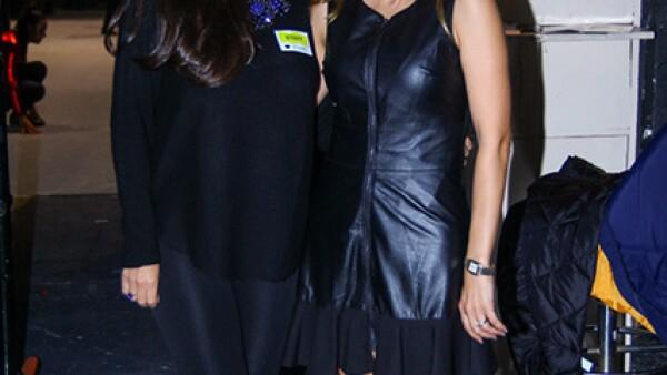 Lilia Ortíz y Ludy González de Morales