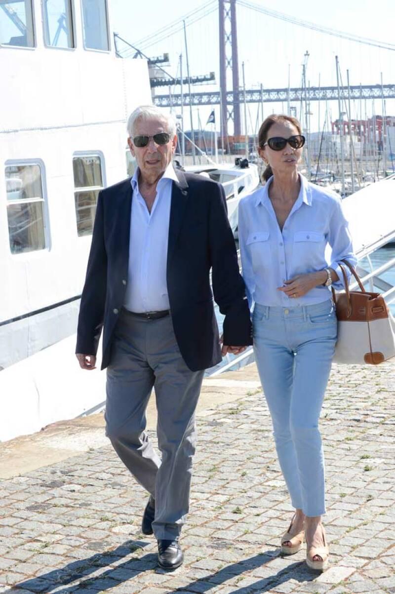 Gonzalo, quien también es un empresario, criticó fuertemente la relación de su padre, pues dijo que era un truco mediático.