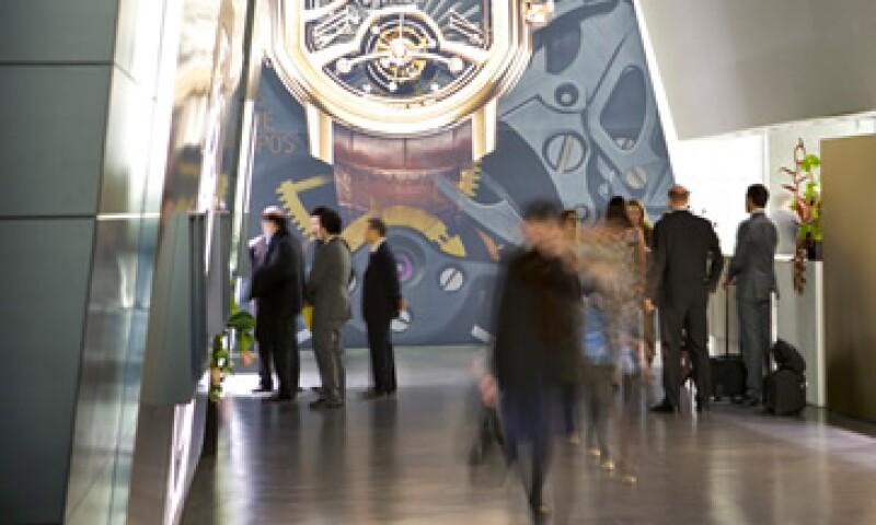 De las más de 600 marcas de relojes que agrupa Baselworld, 446 portan la bandera de Suiza (Foto: Izaskun Esquinca)