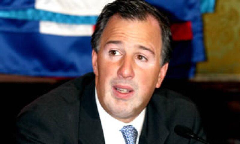 José Antonio Meade compareció este miércoles antes senadores. (Foto: Notimex)