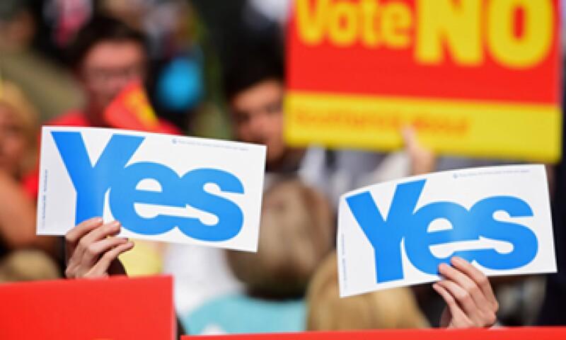 El sector financiero escoces genera aproximadamente 11,000 mdd para la economía anualmente. (Foto: Getty Images)