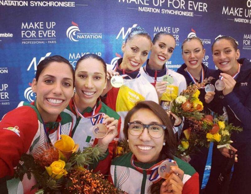 Karem orgullosa de poner en alto el nombre de México