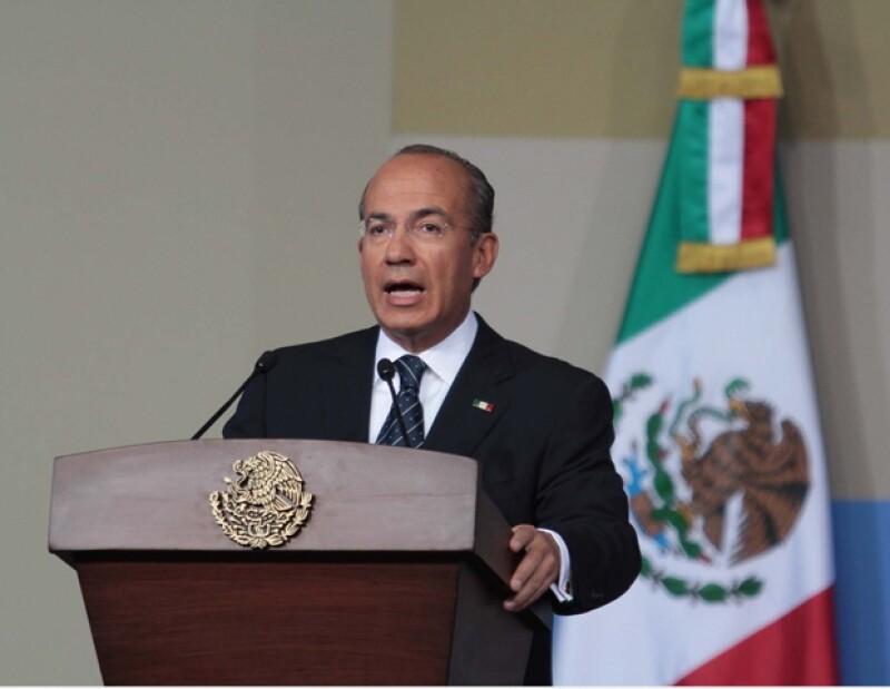 A través de un emotivo discurso fue como el presidente agradeció a los mexicanos, a sus colaboradores y a su familia por ser parte fundamental de su sexenio.