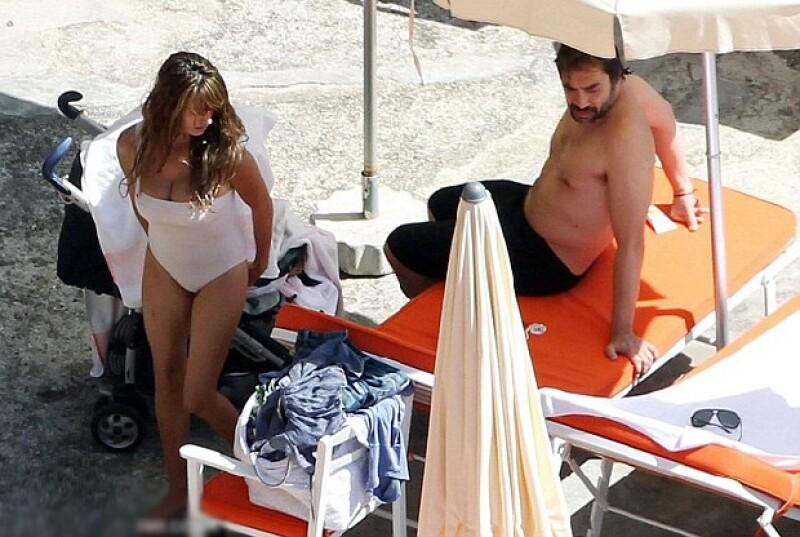 Javier Bardem ha dejado atrás su abdomen marcado y ha dejado en evidencia sus kilos de más.
