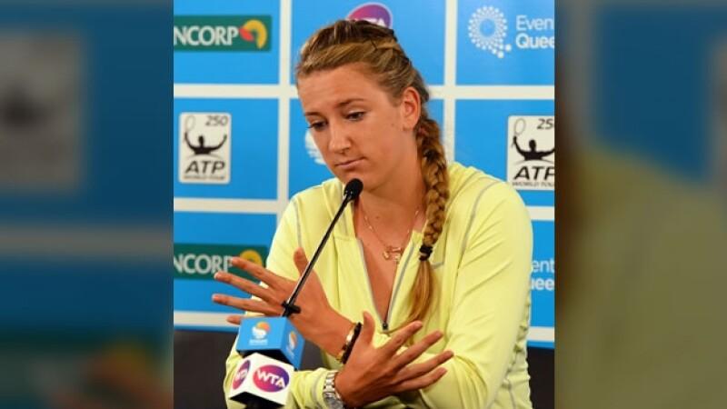 Victoria Azarenka retira torneo Brisbane