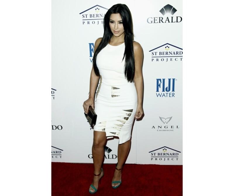 Kim es la más famosa de la familia.