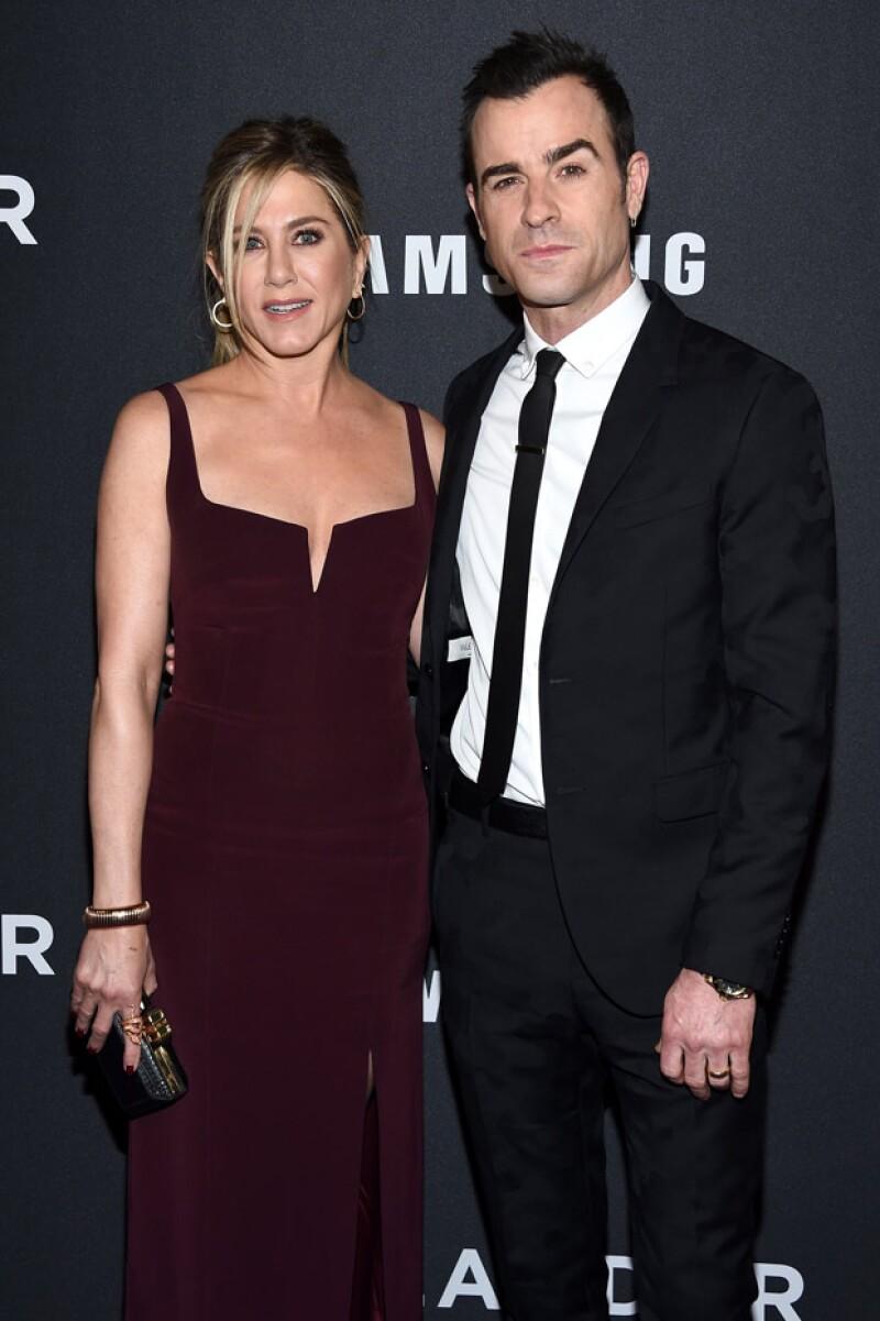 Jennifer y Justin se casaron el año pasado en una ceremonia en secreto.