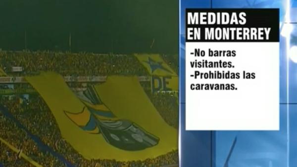 Nuevo León quiere evitar nuevos episodios violentos alrededor del futbol