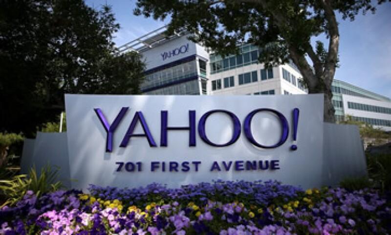 Yahoo también reportó ganancias por 6,800 mdd en el trimestre, impulsadas por la venta de su participación en Alibaba. (Foto: AFP )