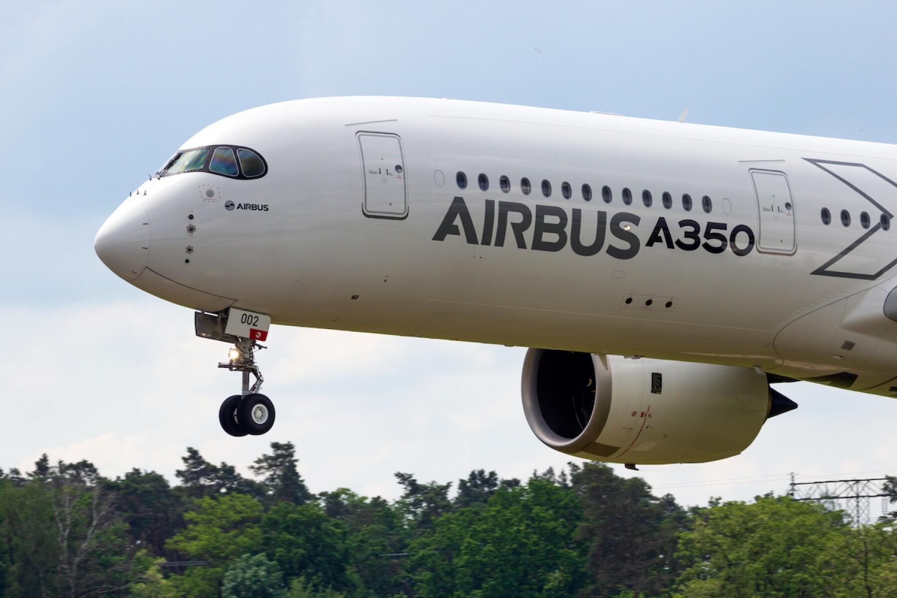 Airbus A350 XWB passenger plane